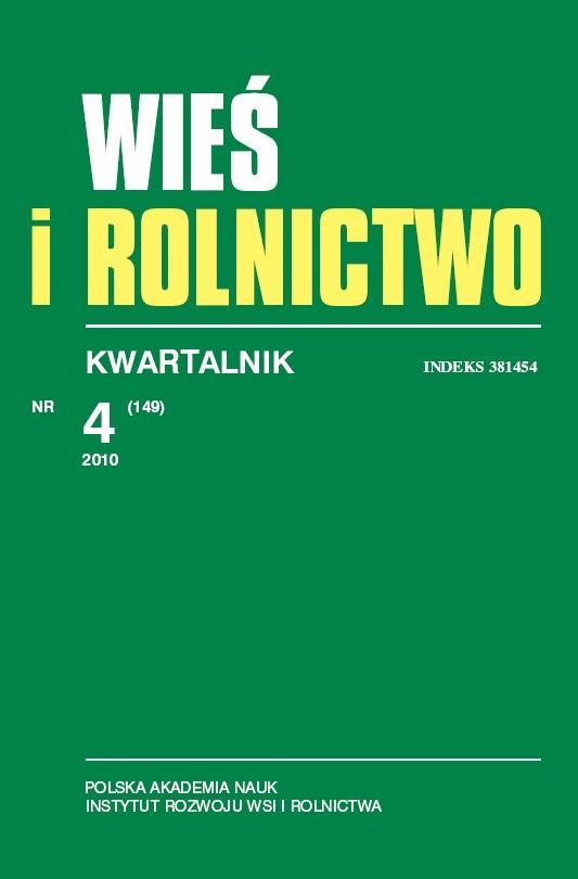 Wyświetl Nr 4 (149) 2010: Kwartalnik