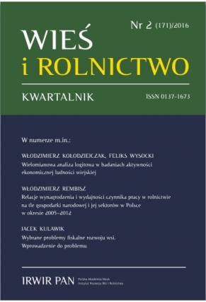 Wyświetl Nr 2 (171) 2016: Kwartalnik