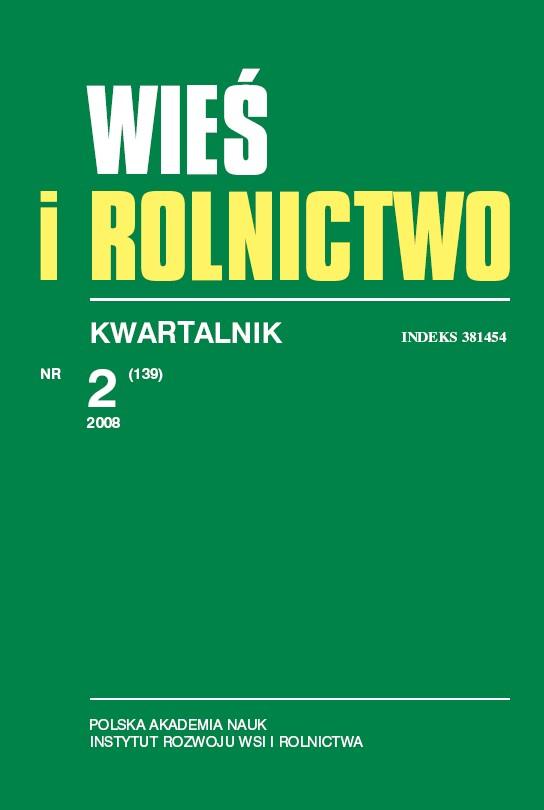 Wyświetl Nr 2 (139) 2008: Kwartalnik